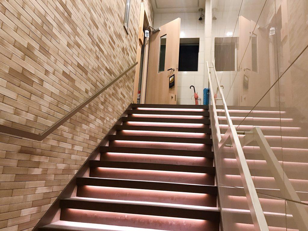 まぐろとさばの階段