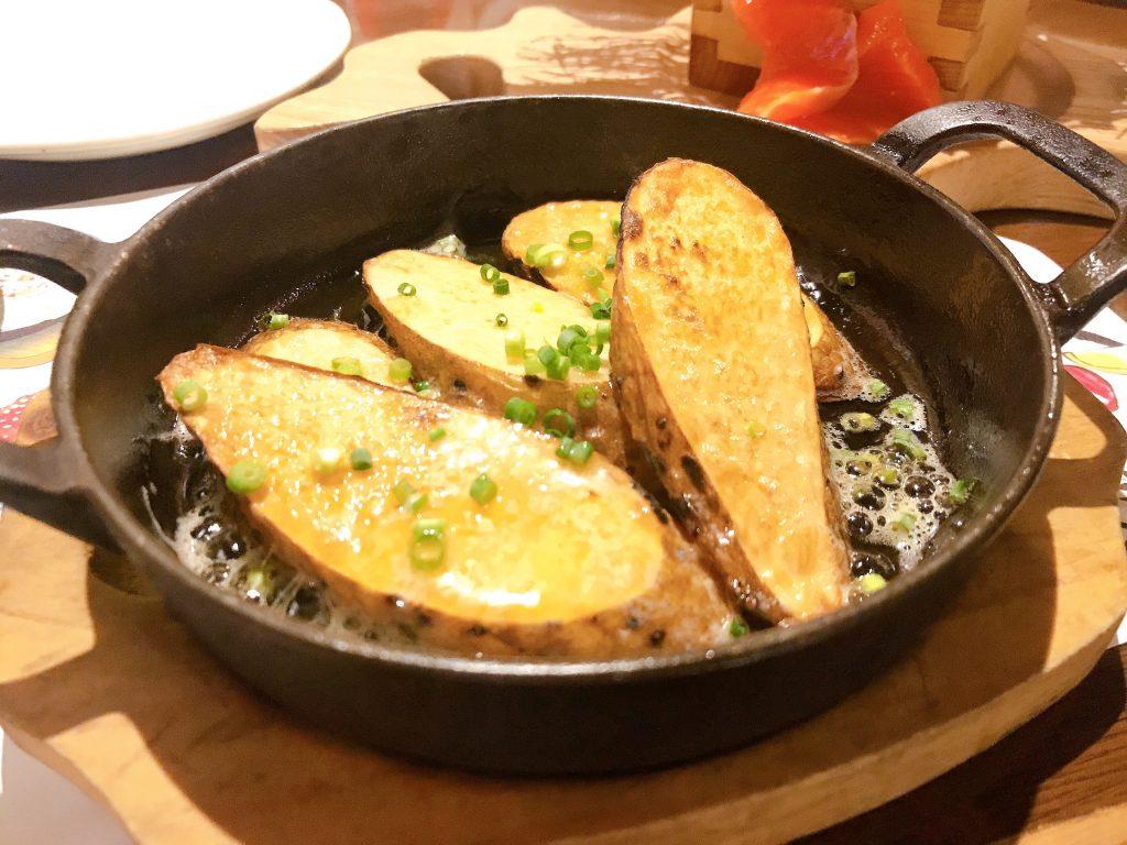 長芋バターステーキ