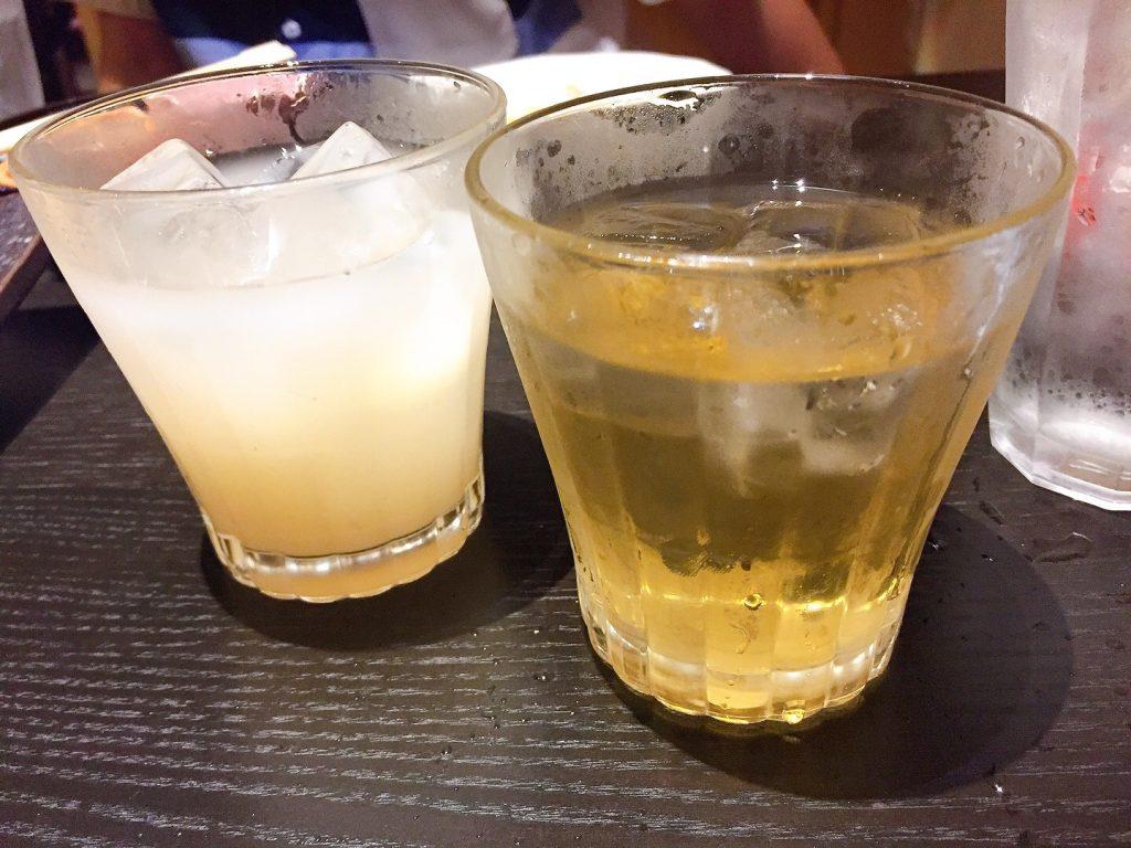 カルピス梅酒、とうがらし梅酒