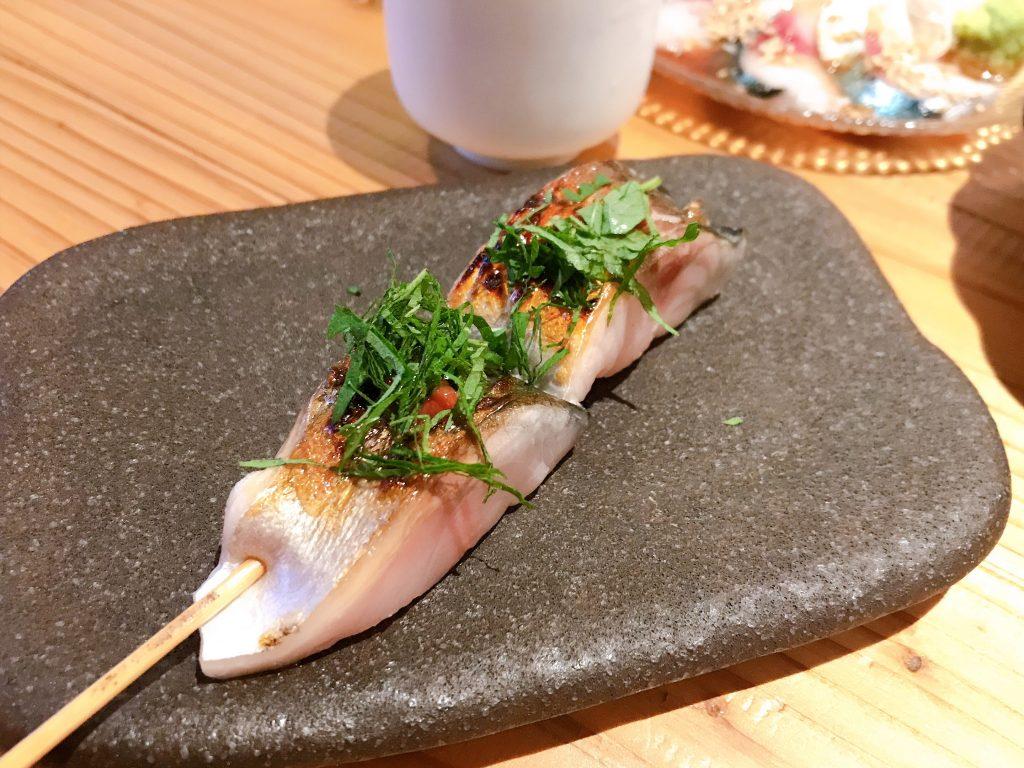 トロ鯖串焼