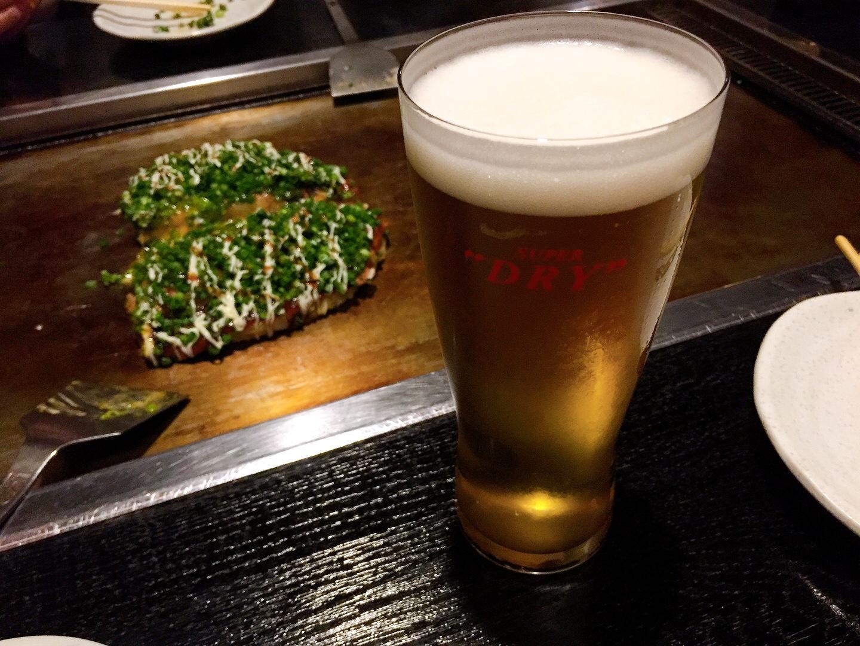 ビールと特まっか焼き